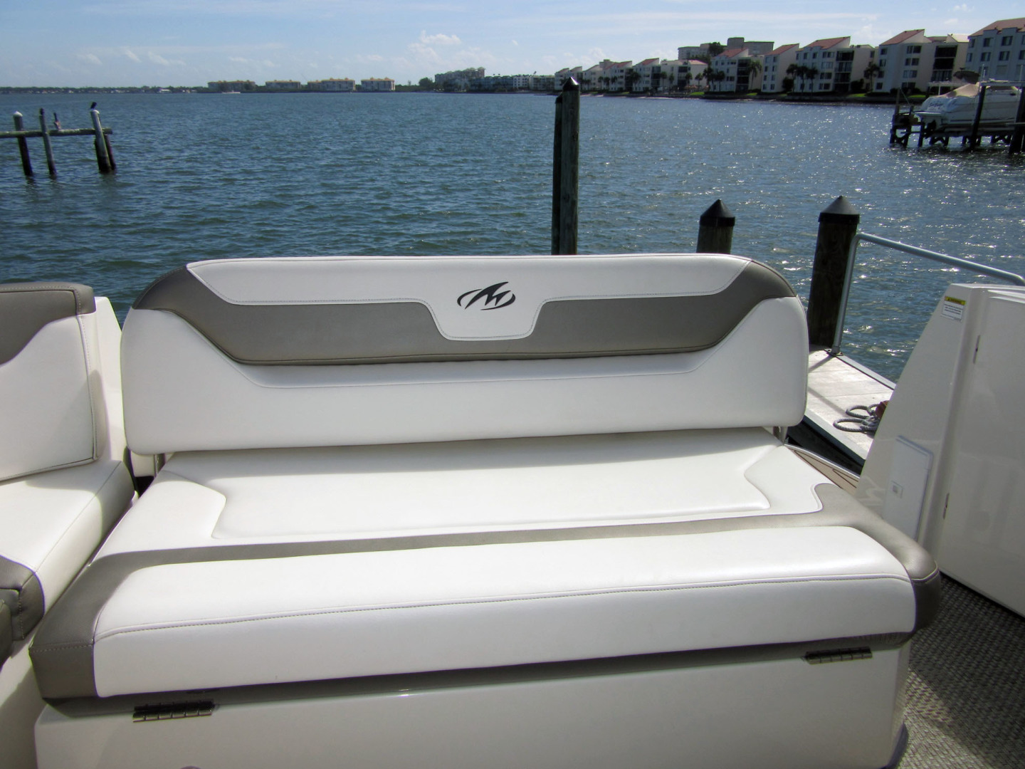 Monterey-355 Sport Yacht 2014-Sunset Serenity St. Petersburg-Florida-United States-Transom Seat-1498610 | Thumbnail