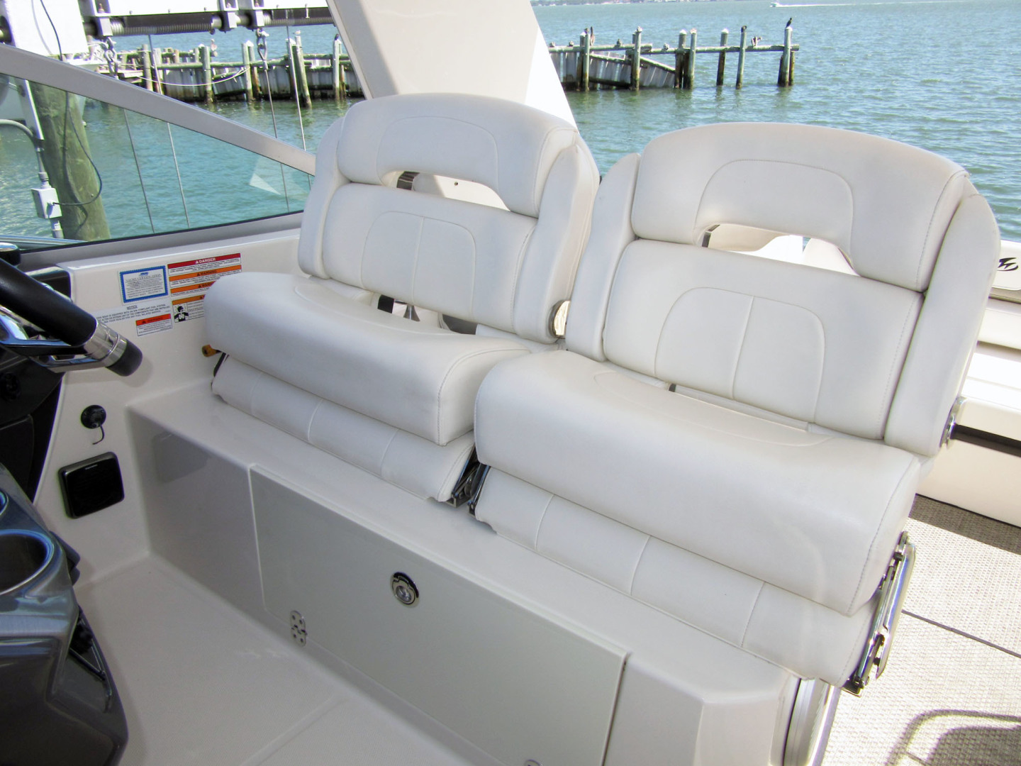 Monterey-355 Sport Yacht 2014-Sunset Serenity St. Petersburg-Florida-United States-Helm Seat-1498597 | Thumbnail