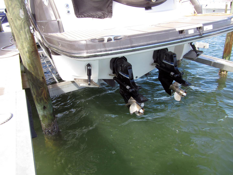 Monterey-355 Sport Yacht 2014-Sunset Serenity St. Petersburg-Florida-United States-Bravo III Outdrives-1498618   Thumbnail