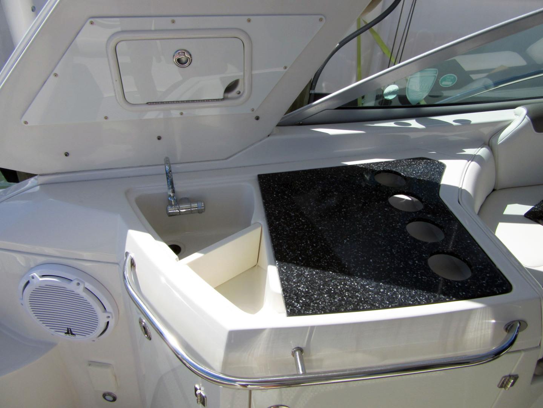 Monterey-355 Sport Yacht 2014-Sunset Serenity St. Petersburg-Florida-United States-Cockpit Wet Bar Sink-1498603   Thumbnail