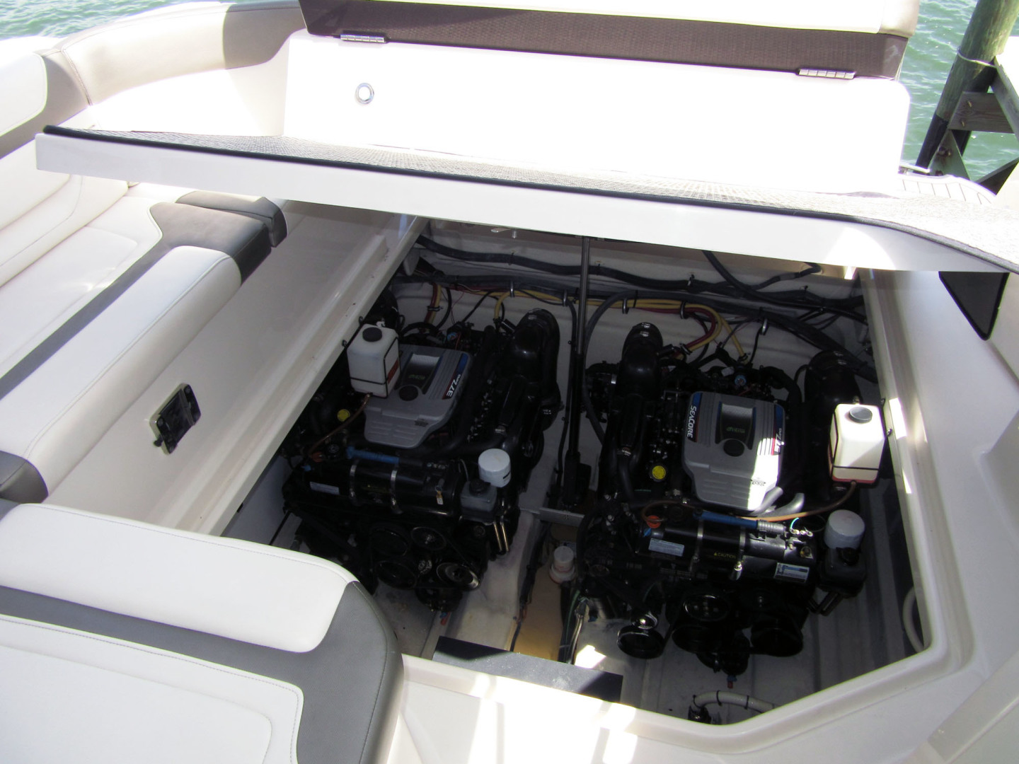 Monterey-355 Sport Yacht 2014-Sunset Serenity St. Petersburg-Florida-United States-Electric Engine Room Hatch-1498612 | Thumbnail