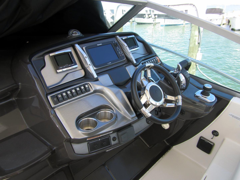 Monterey-355 Sport Yacht 2014-Sunset Serenity St. Petersburg-Florida-United States-Helm-1498594   Thumbnail