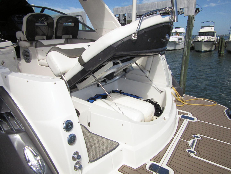 Monterey-355 Sport Yacht 2014-Sunset Serenity St. Petersburg-Florida-United States-Aft Garage Storage-1498619   Thumbnail