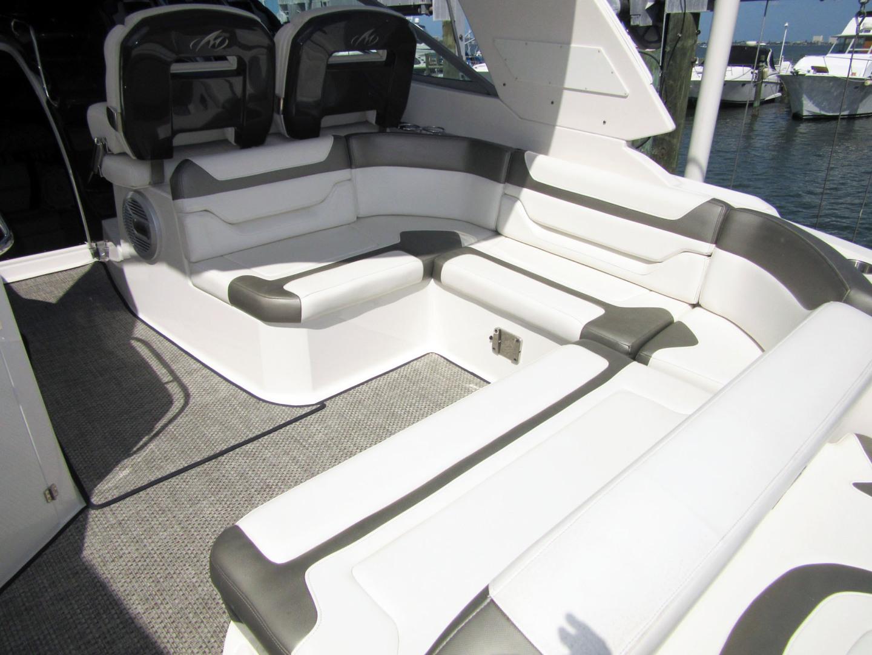 Monterey-355 Sport Yacht 2014-Sunset Serenity St. Petersburg-Florida-United States-Stern Shot Seating-1498609   Thumbnail