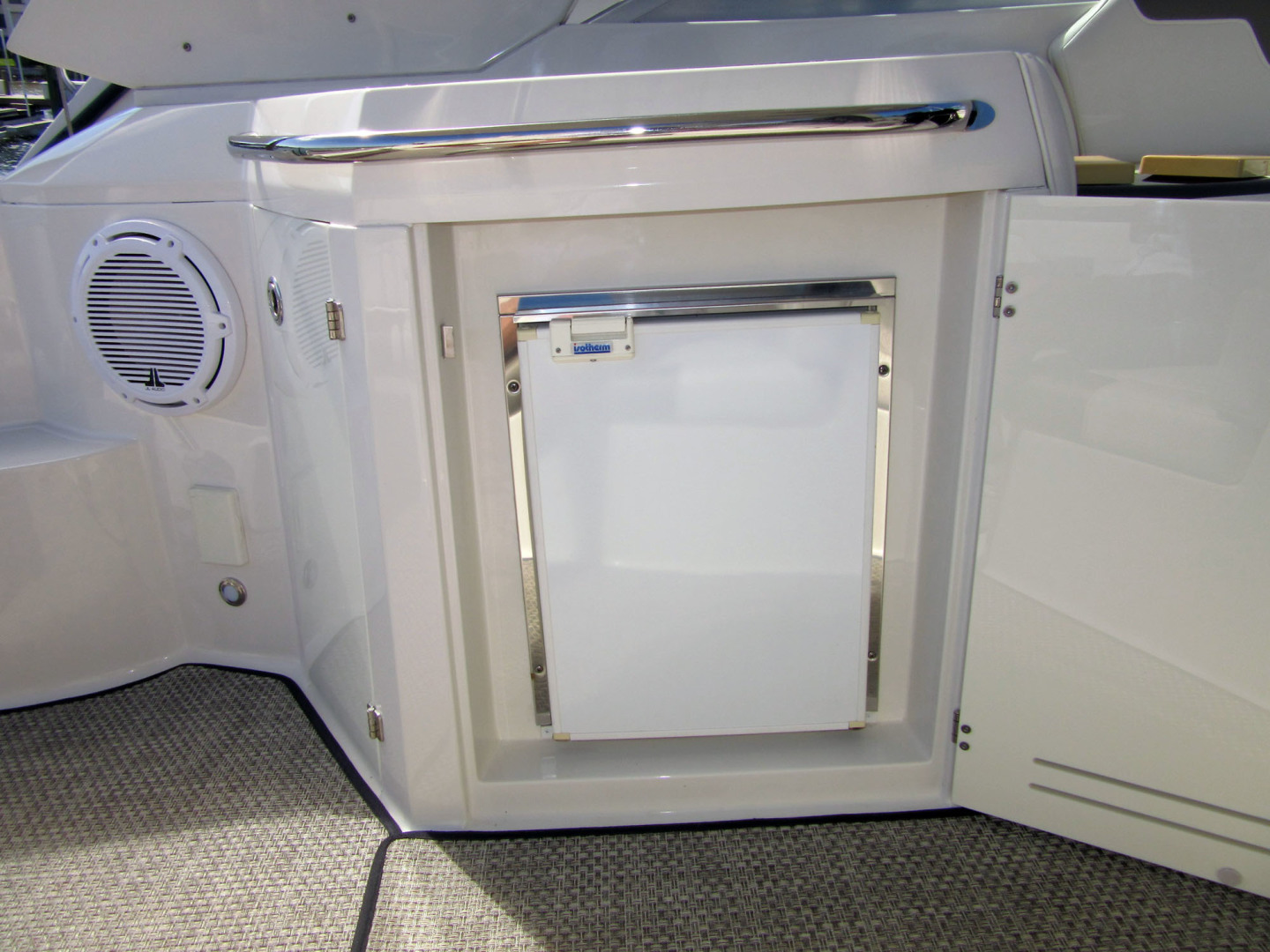 Monterey-355 Sport Yacht 2014-Sunset Serenity St. Petersburg-Florida-United States-Cockpit Refrigerator-1498602 | Thumbnail