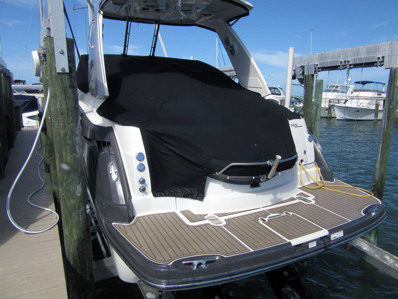 Monterey-355 Sport Yacht 2014-Sunset Serenity St. Petersburg-Florida-United States-Transom Platform-1498621   Thumbnail