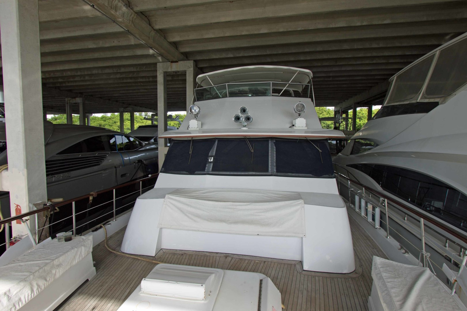 Hatteras-Extended Deck 1981-Vision For Children Fort Lauderdale-Florida-United States-1498099 | Thumbnail