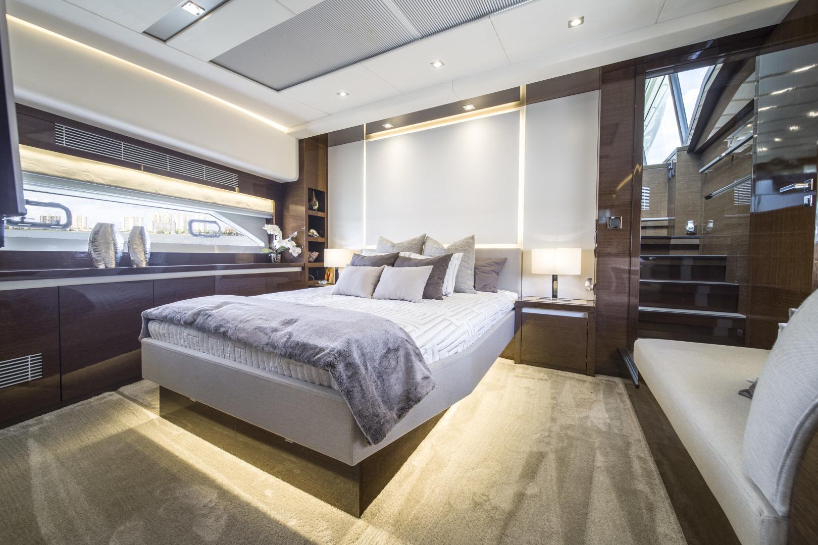 Prestige-680 Flybridge 2018-Seduction Sarasota-Florida-United States-2018 68 Prestige 680 Flybridge  Master Stateroom-1498929 | Thumbnail