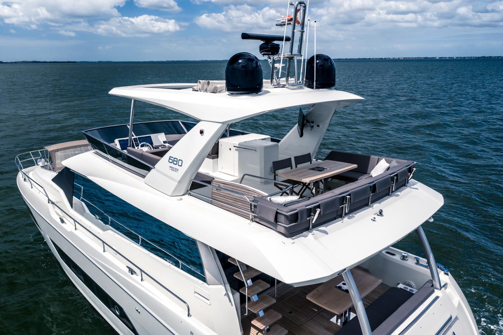 Prestige-680 Flybridge 2018-Seduction Sarasota-Florida-United States-2018 68 Prestige 680 Flybridge  Flybridge Profile-1498885 | Thumbnail