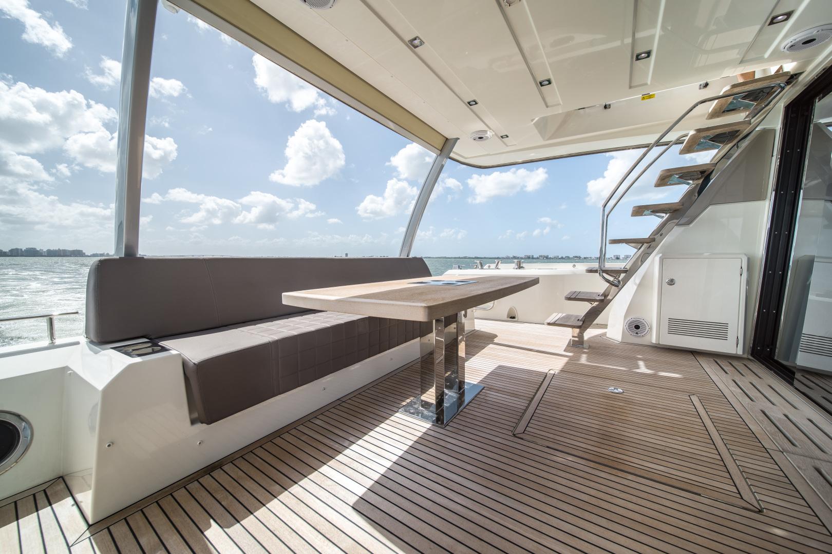 Prestige-680 Flybridge 2018-Seduction Sarasota-Florida-United States-2018 68 Prestige 680 Flybridge  Cockpit Aft Deck-1498993 | Thumbnail