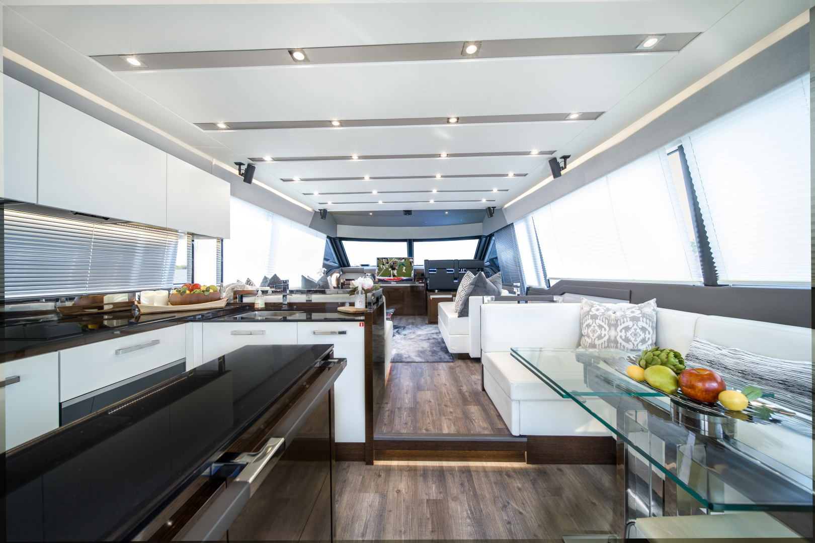 Prestige-680 Flybridge 2018-Seduction Sarasota-Florida-United States-2018 68 Prestige 680 Flybridge  Salon-1501854 | Thumbnail