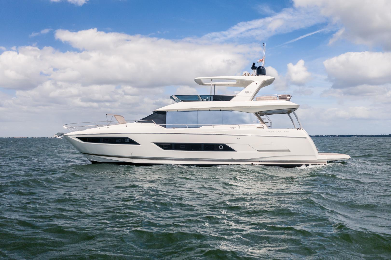 Prestige-680 Flybridge 2018-Seduction Sarasota-Florida-United States-2018 68 Prestige 680 Flybridge  Port Profile-1498879 | Thumbnail