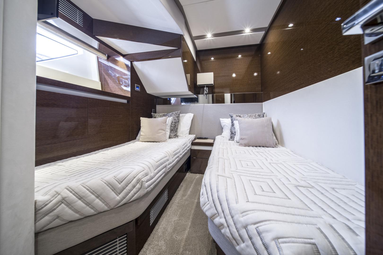Prestige-680 Flybridge 2018-Seduction Sarasota-Florida-United States-2018 68 Prestige 680 Flybridge  Port Guest Stateroom-1498940 | Thumbnail