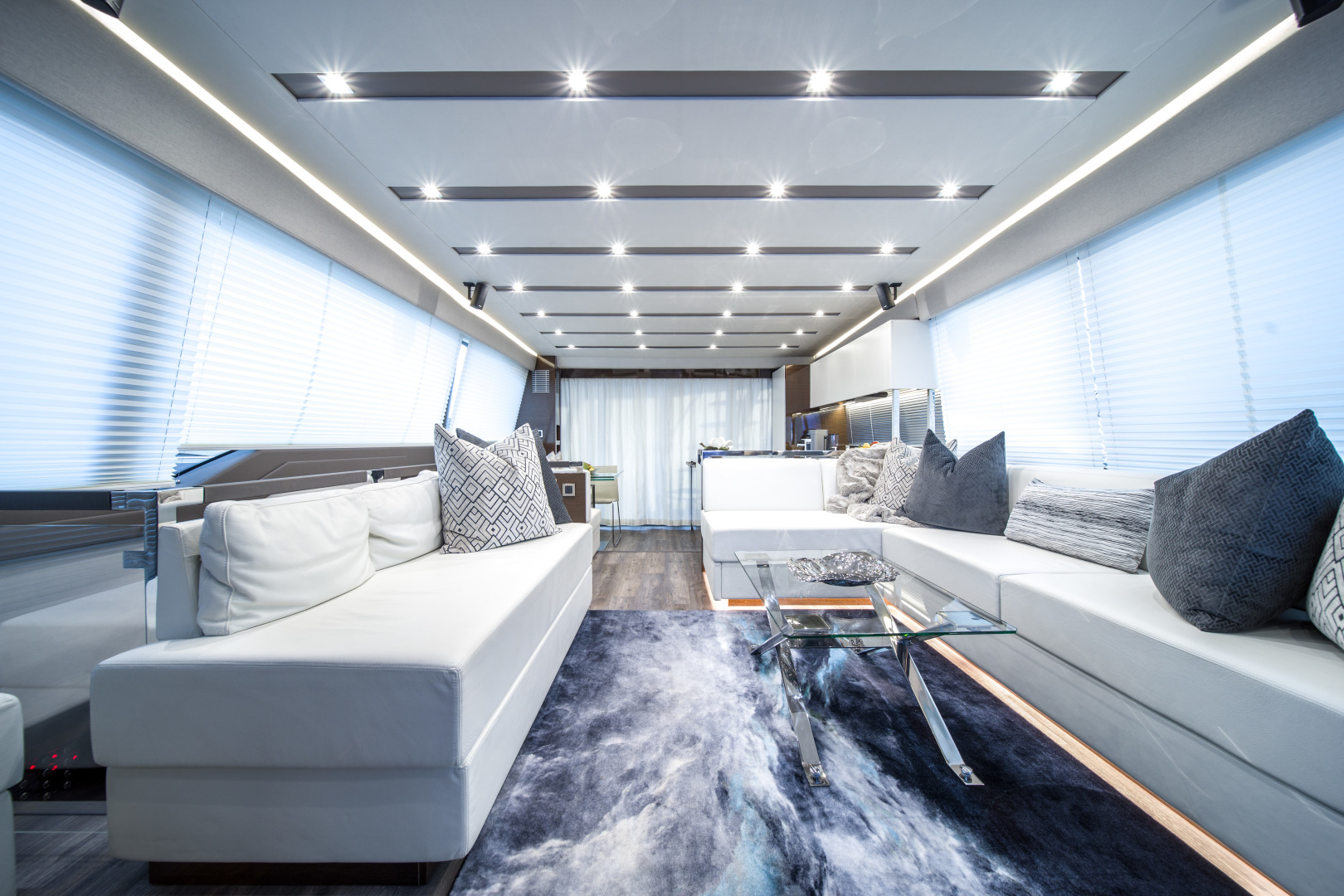 Prestige-680 Flybridge 2018-Seduction Sarasota-Florida-United States-2018 68 Prestige 680 Flybridge  Salon-1501882 | Thumbnail