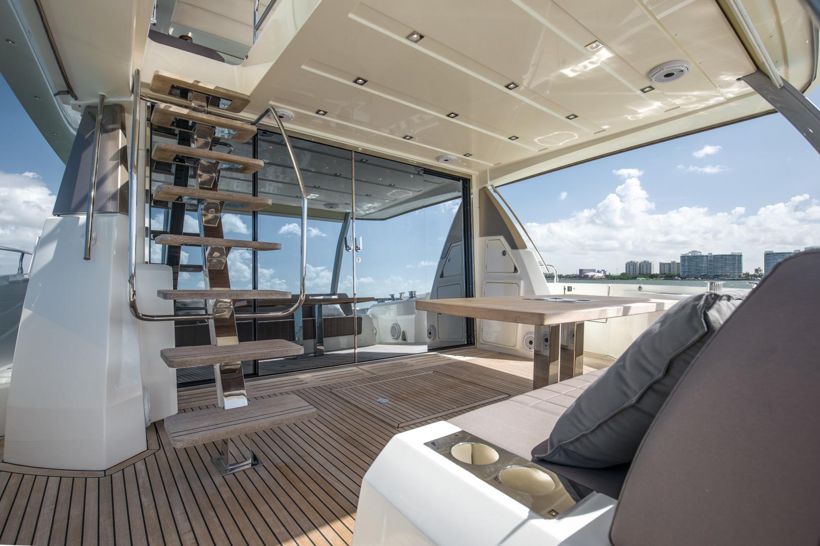 Prestige-680 Flybridge 2018-Seduction Sarasota-Florida-United States-2018 68 Prestige 680 Flybridge  Cockpit Aft Deck-1498991 | Thumbnail