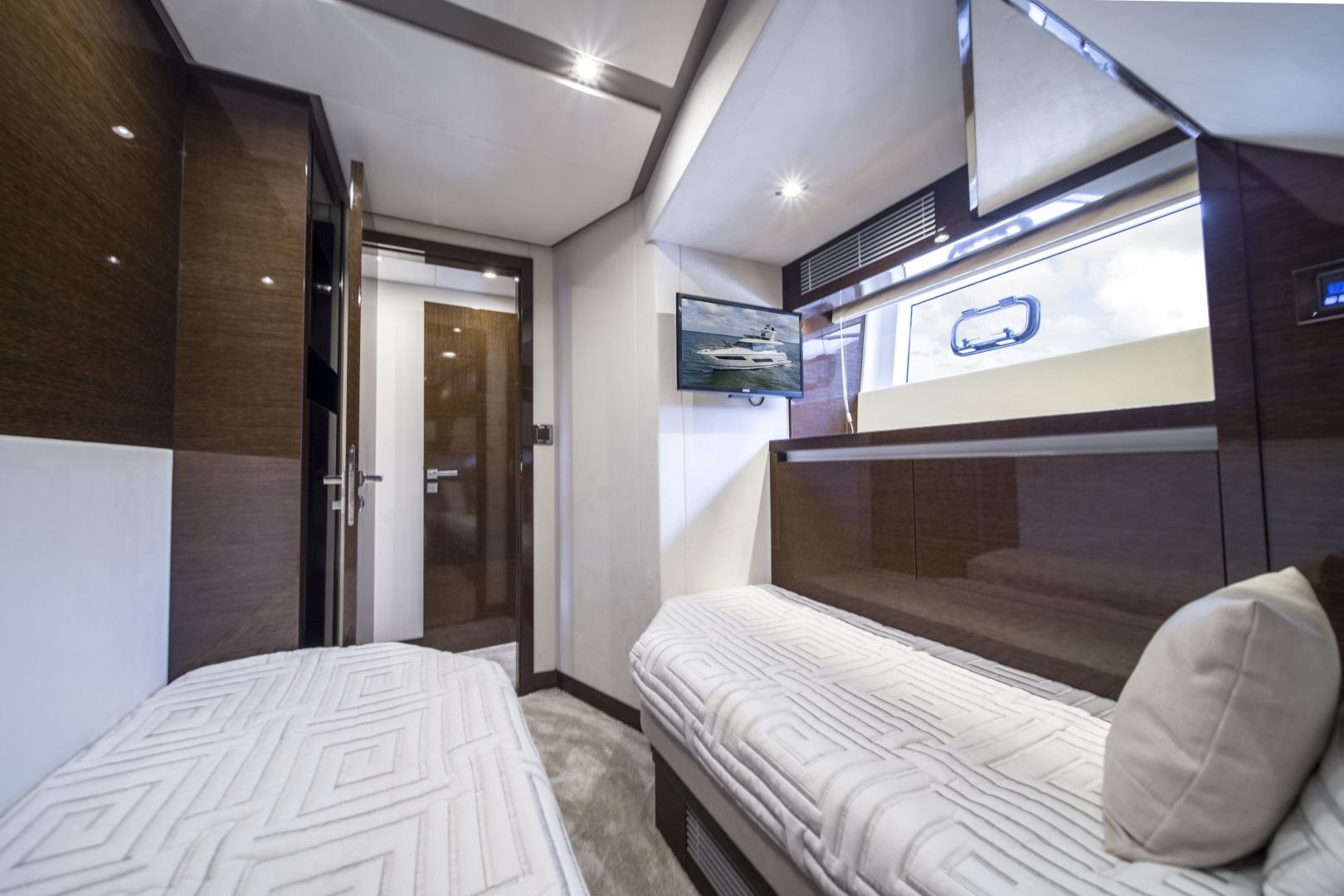 Prestige-680 Flybridge 2018-Seduction Sarasota-Florida-United States-2018 68 Prestige 680 Flybridge  Port Guest Stateroom-1498941 | Thumbnail