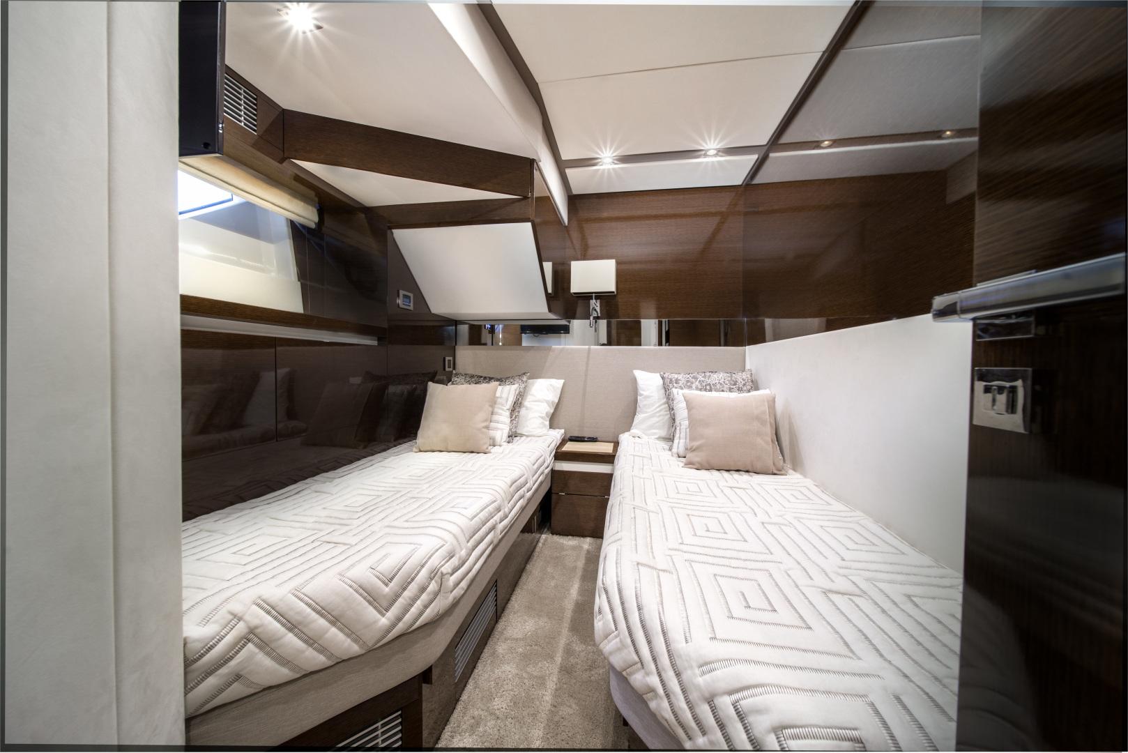 Prestige-680 Flybridge 2018-Seduction Sarasota-Florida-United States-2018 68 Prestige 680 Flybridge  Port Guest Stateroom-1501880 | Thumbnail