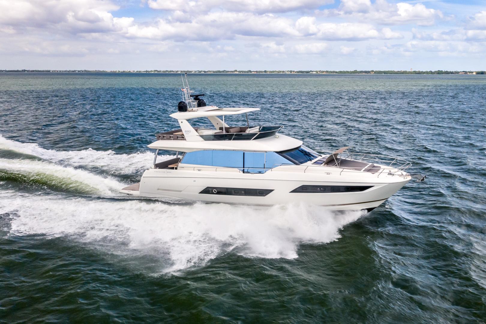 Prestige-680 Flybridge 2018-Seduction Sarasota-Florida-United States-2018 68 Prestige 680 Flybridge  Running Profile-1499104 | Thumbnail