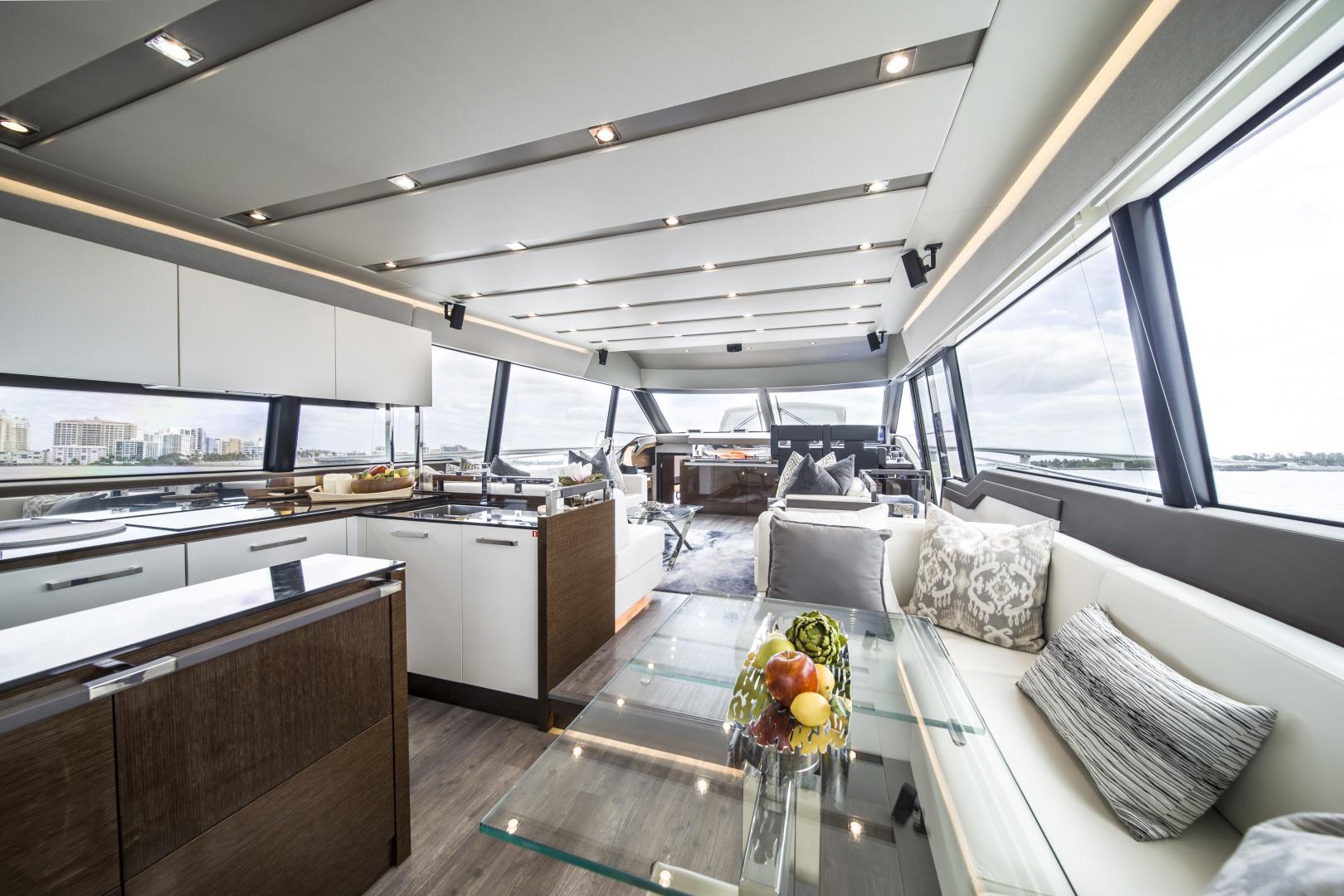 Prestige-680 Flybridge 2018-Seduction Sarasota-Florida-United States-2018 68 Prestige 680 Flybridge  Salon-1498916 | Thumbnail