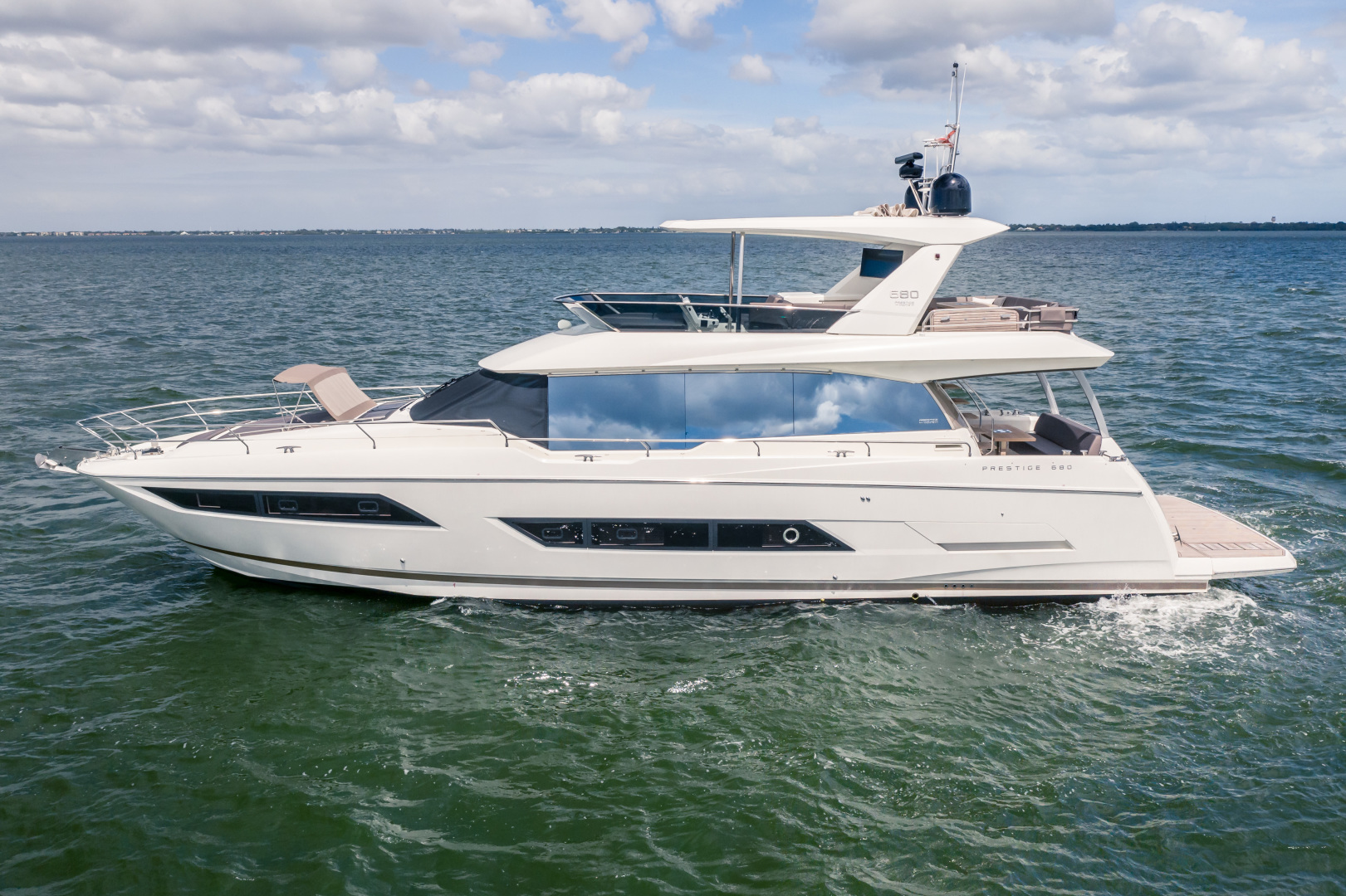 Prestige-680 Flybridge 2018-Seduction Sarasota-Florida-United States-2018 68 Prestige 680 Flybridge  Port Profile-1498881 | Thumbnail