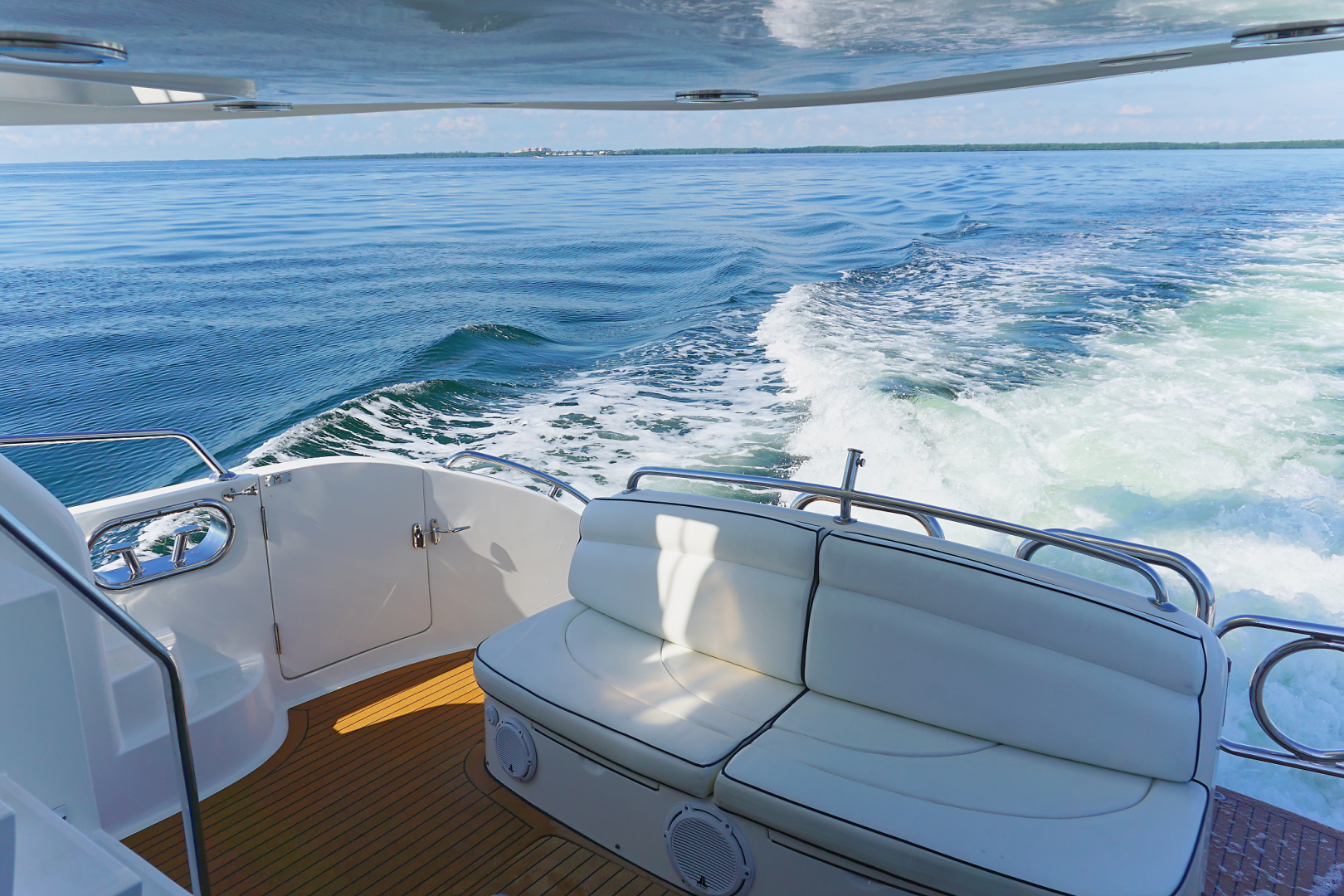 Ocean Alexander-Veloce 2007-SEARENITY Coral Gables-Florida-United States-Aft Deck Seating-1499222 | Thumbnail