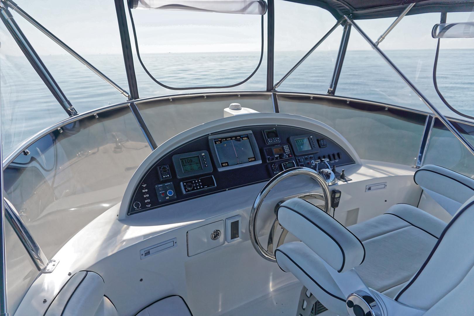 Ocean Alexander-Veloce 2007-SEARENITY Coral Gables-Florida-United States-Flybridge Helm-1499224 | Thumbnail