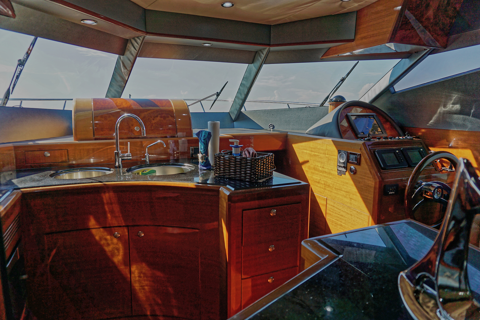 Ocean Alexander-Veloce 2007-SEARENITY Coral Gables-Florida-United States-Galley-1499202 | Thumbnail