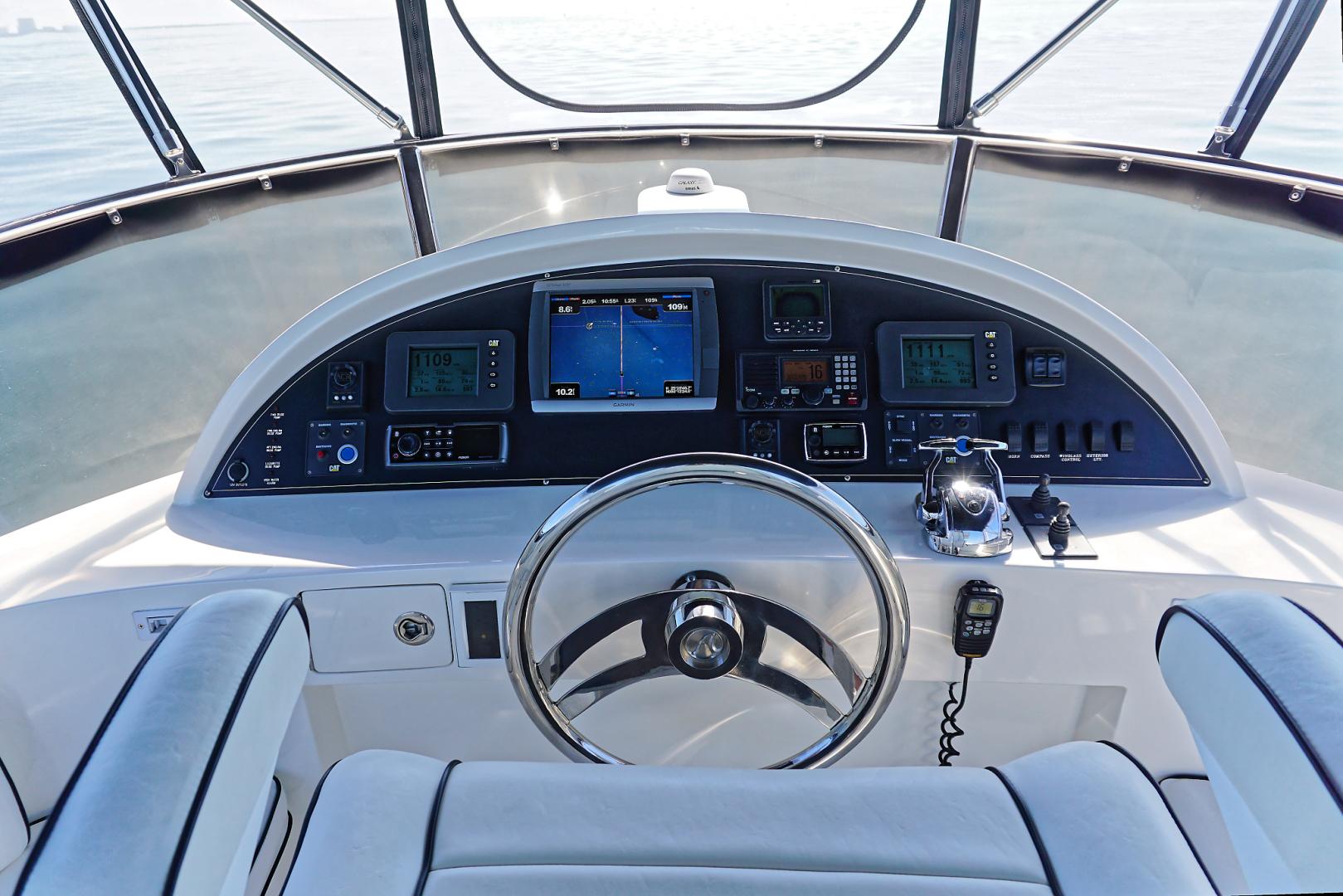 Ocean Alexander-Veloce 2007-SEARENITY Coral Gables-Florida-United States-Flybridge Helm-1499227 | Thumbnail