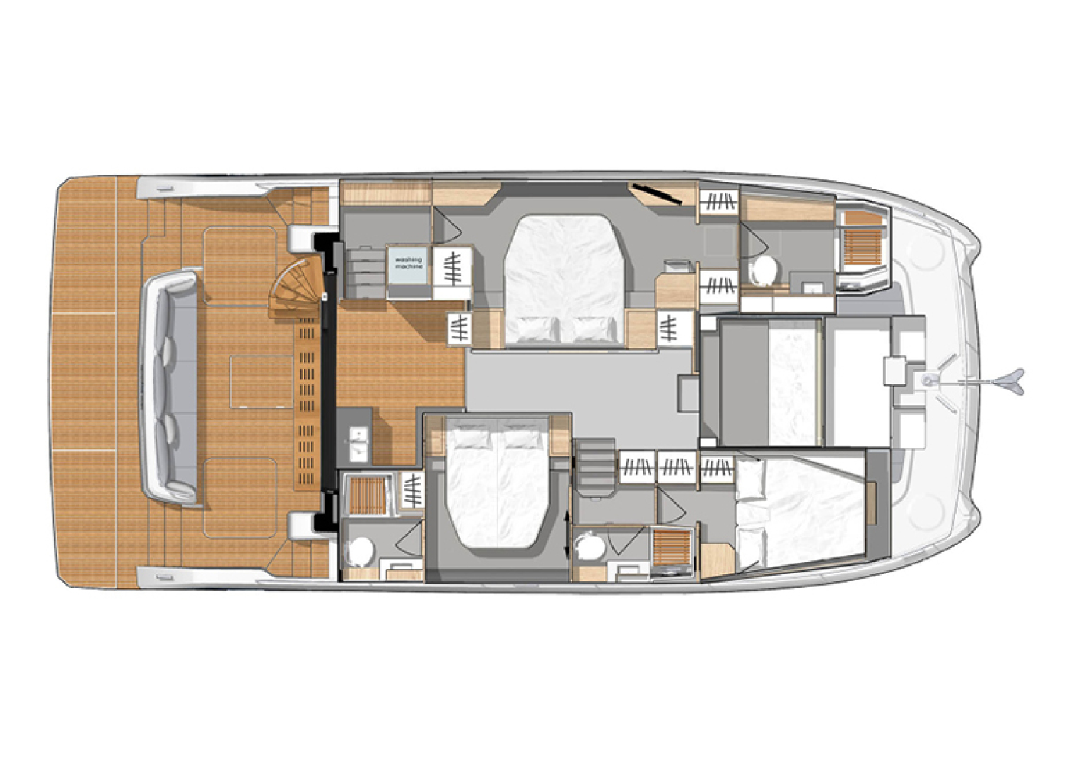 Fountaine Pajot-44 Motoryacht 2020-Miss Charlotte Louise Annapolis-Maryland-United States-1499489 | Thumbnail