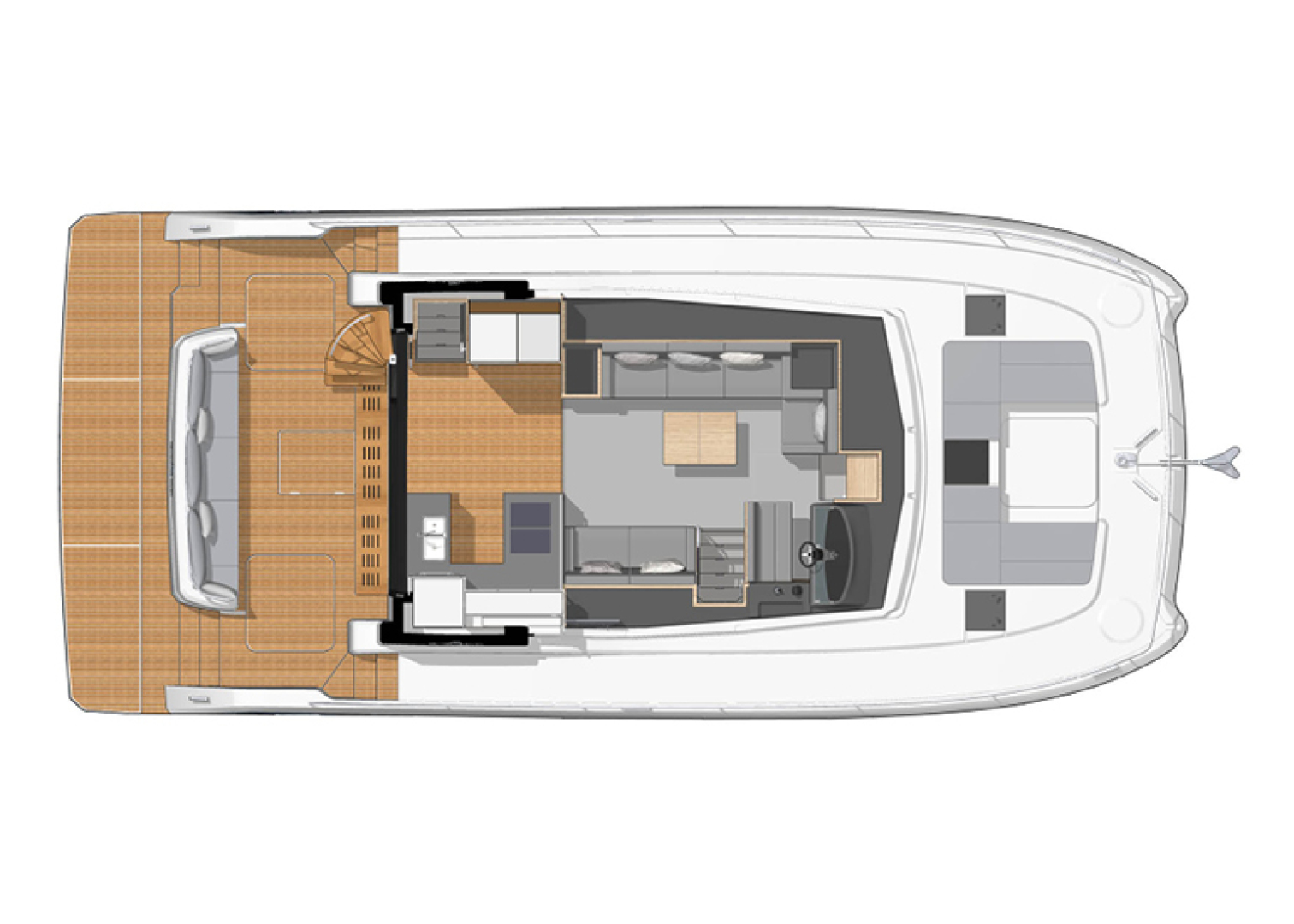 Fountaine Pajot-44 Motoryacht 2020-Miss Charlotte Louise Annapolis-Maryland-United States-1499490 | Thumbnail