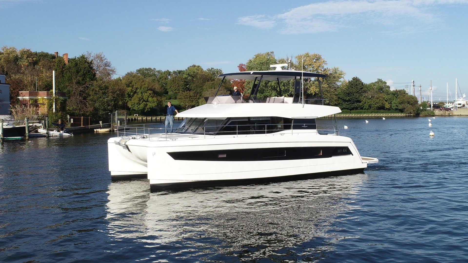 Fountaine Pajot-44 Motoryacht 2020-Miss Charlotte Louise Annapolis-Maryland-United States-1557356 | Thumbnail