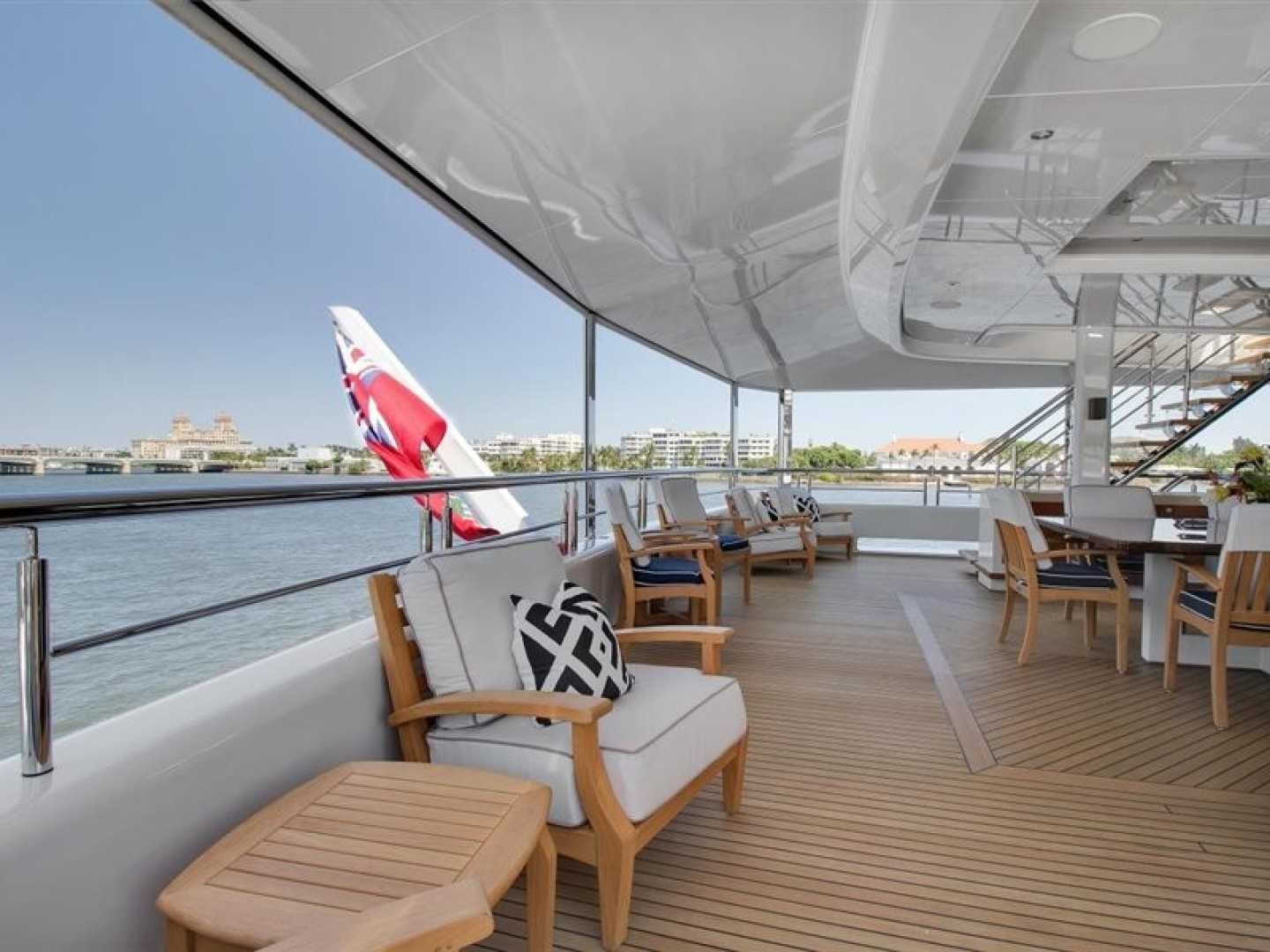 Turquoise 2012-QUANTUM OF SOLACE West Palm Beach-Florida-United States-Skylounge Aft Deck  Screen Up-1657672 | Thumbnail