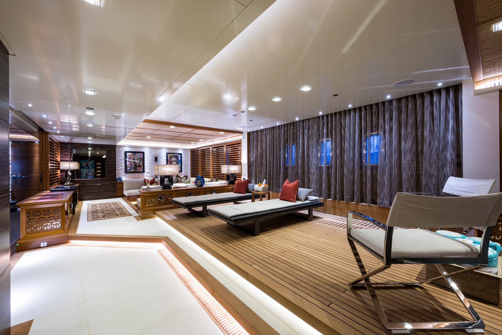 Turquoise 2012-QUANTUM OF SOLACE West Palm Beach-Florida-United States-Spa Lounge Area Facing Forward-1572084 | Thumbnail