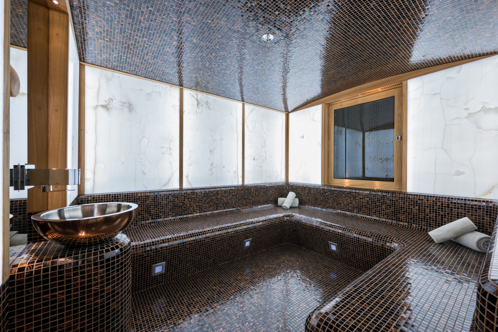 Turquoise 2012-QUANTUM OF SOLACE West Palm Beach-Florida-United States-Spa 10-Person Hamman/Steam Room with Backlit Quartz-1572103 | Thumbnail