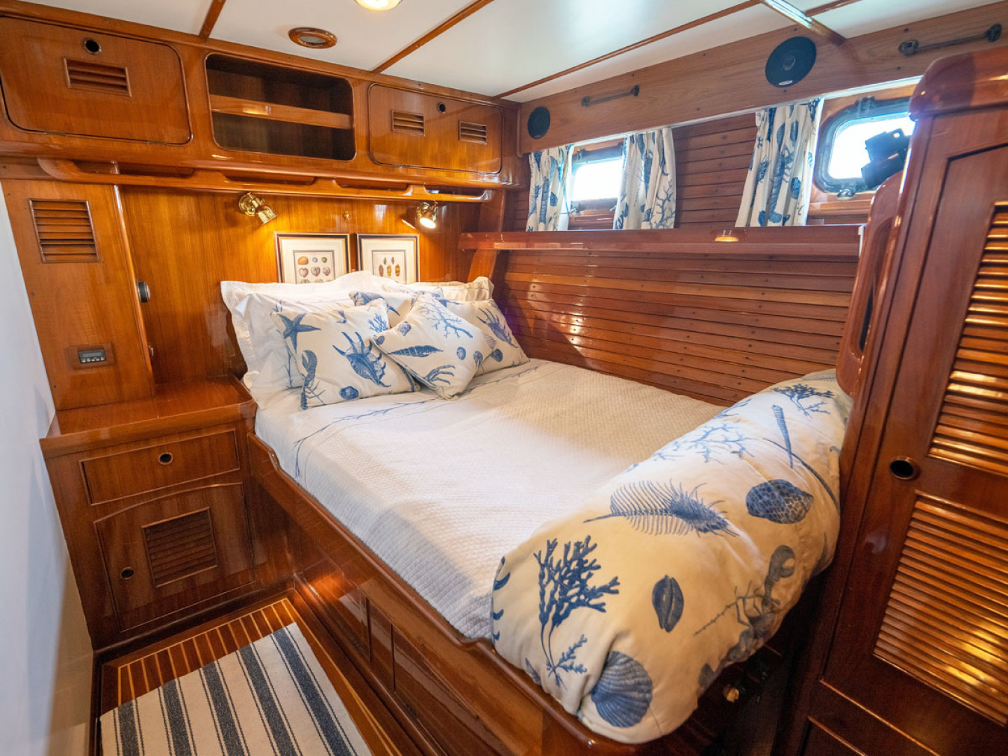 Little Harbor-78 1984-HERMIE LOUISE Fort Lauderdale-Florida-United States-Guest Cabin, Stbd. -1536740   Thumbnail