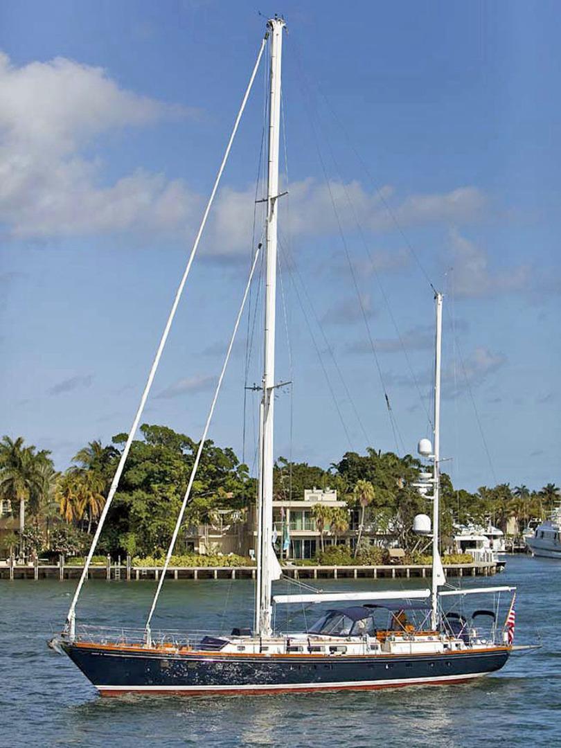 Little Harbor-78 1984-HERMIE LOUISE Fort Lauderdale-Florida-United States-Profile-1500417   Thumbnail