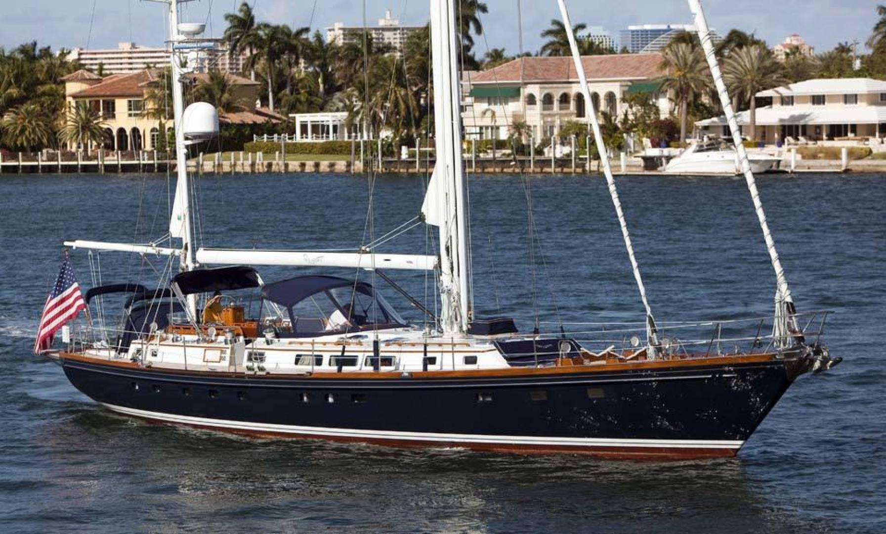 Little Harbor-78 1984-HERMIE LOUISE Fort Lauderdale-Florida-United States-Profile-1536748   Thumbnail