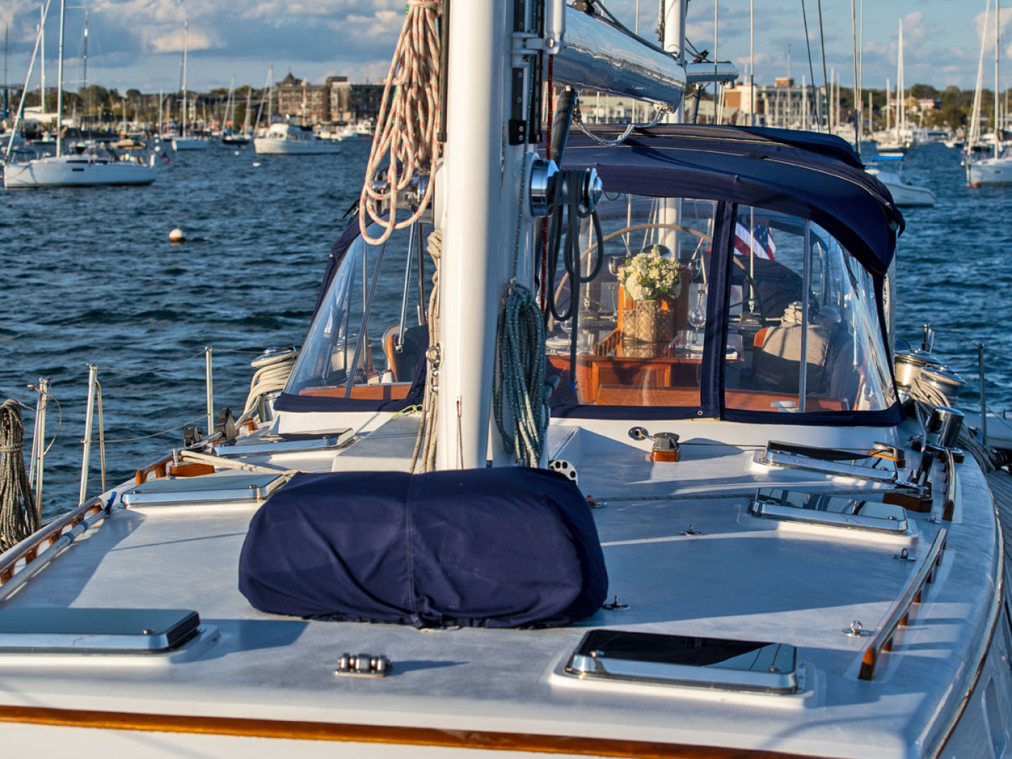 Little Harbor-78 1984-HERMIE LOUISE Fort Lauderdale-Florida-United States-Foredeck. Aft-1536737   Thumbnail