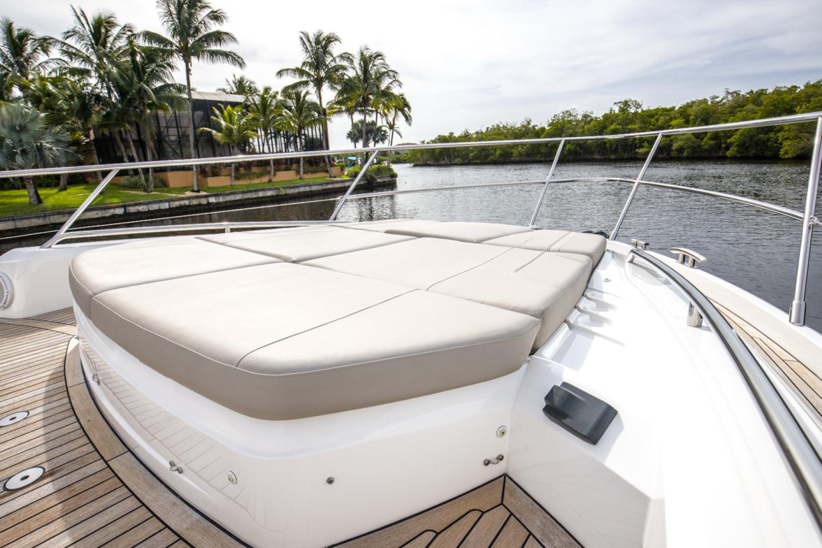 Princess-S65 2019-Paragon Cape Coral-Florida-United States-2019 65 Princess S65-Paragon-Bow Deck Seating-1510283 | Thumbnail