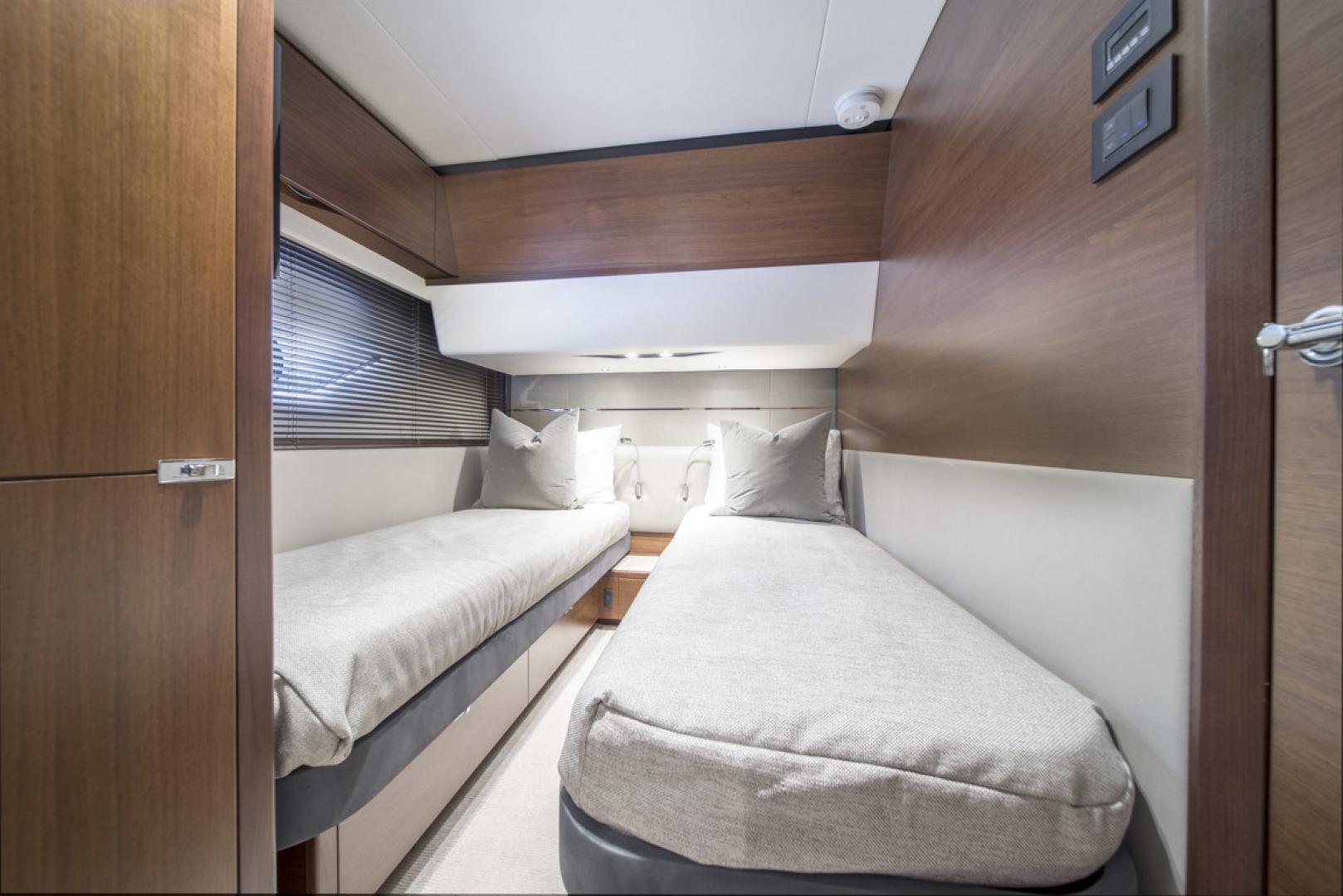 Princess-S65 2019-Paragon Cape Coral-Florida-United States-2019 65 Princess S65-Paragon-Starboard Guest Stateroom-1509923 | Thumbnail