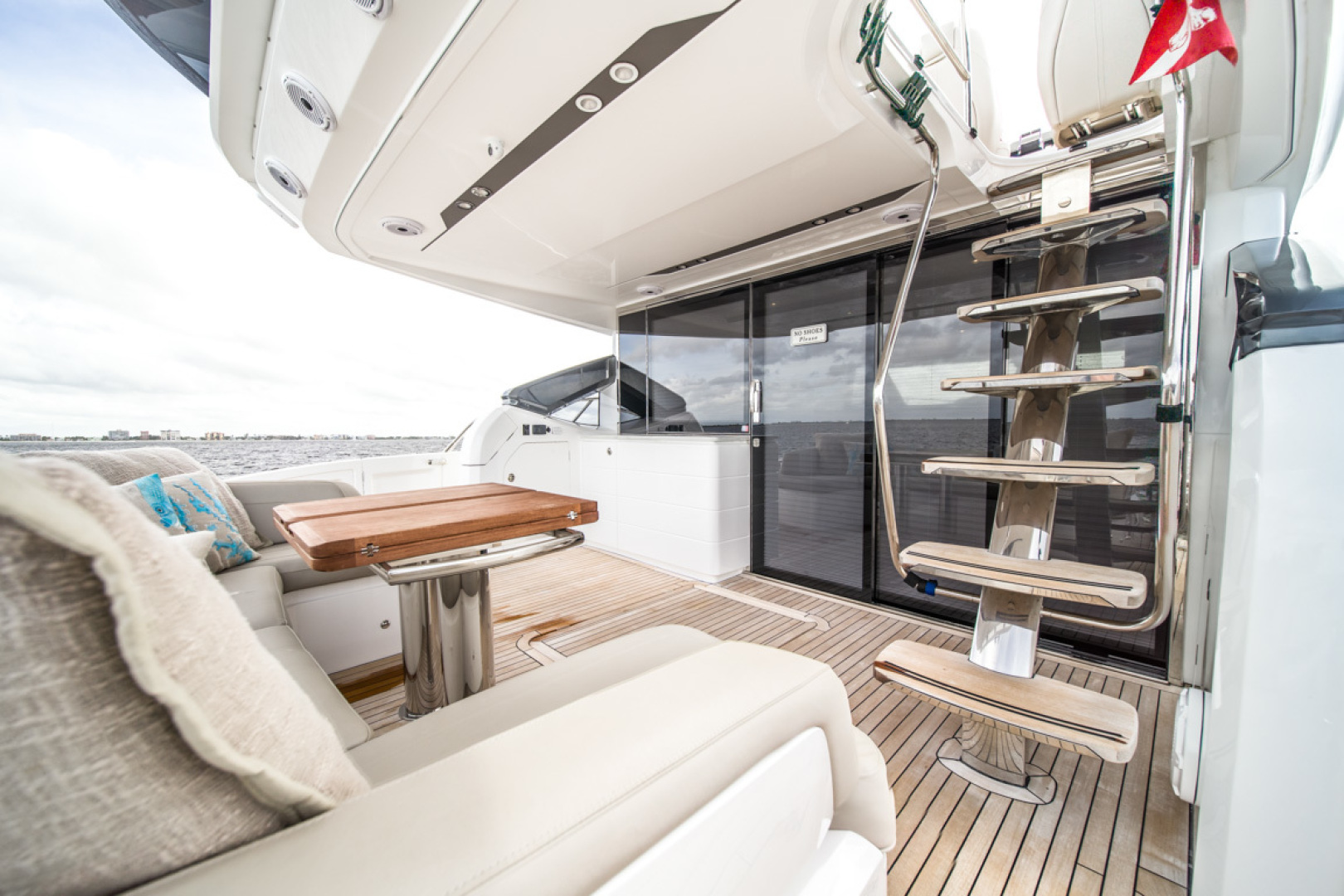 Princess-S65 2019-Paragon Cape Coral-Florida-United States-2019 65 Princess S65-Paragon-Cabin Entry-1510276 | Thumbnail