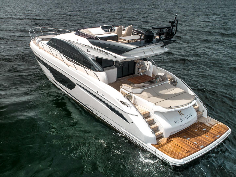 Princess-S65 2019-Paragon Cape Coral-Florida-United States-2019 65 Princess S65-Paragon-Transom Profile-1509939 | Thumbnail