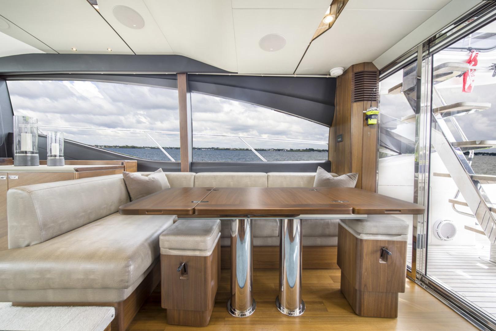 Princess-S65 2019-Paragon Cape Coral-Florida-United States-2019 65 Princess S65-Paragon-Dinette-1509912 | Thumbnail