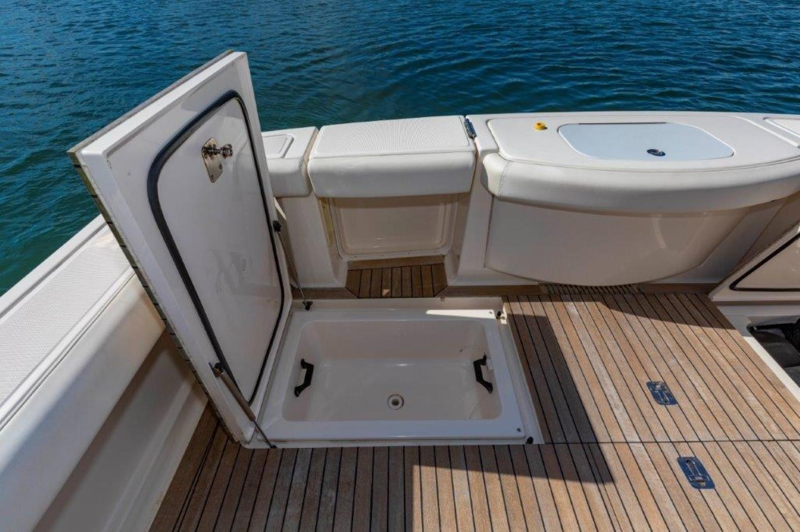 Tiara Yachts-Convertible 2013-ALLIE CAT Quincy-Massachusetts-United States-39_Tiara Cockpit Storage-1507386 | Thumbnail