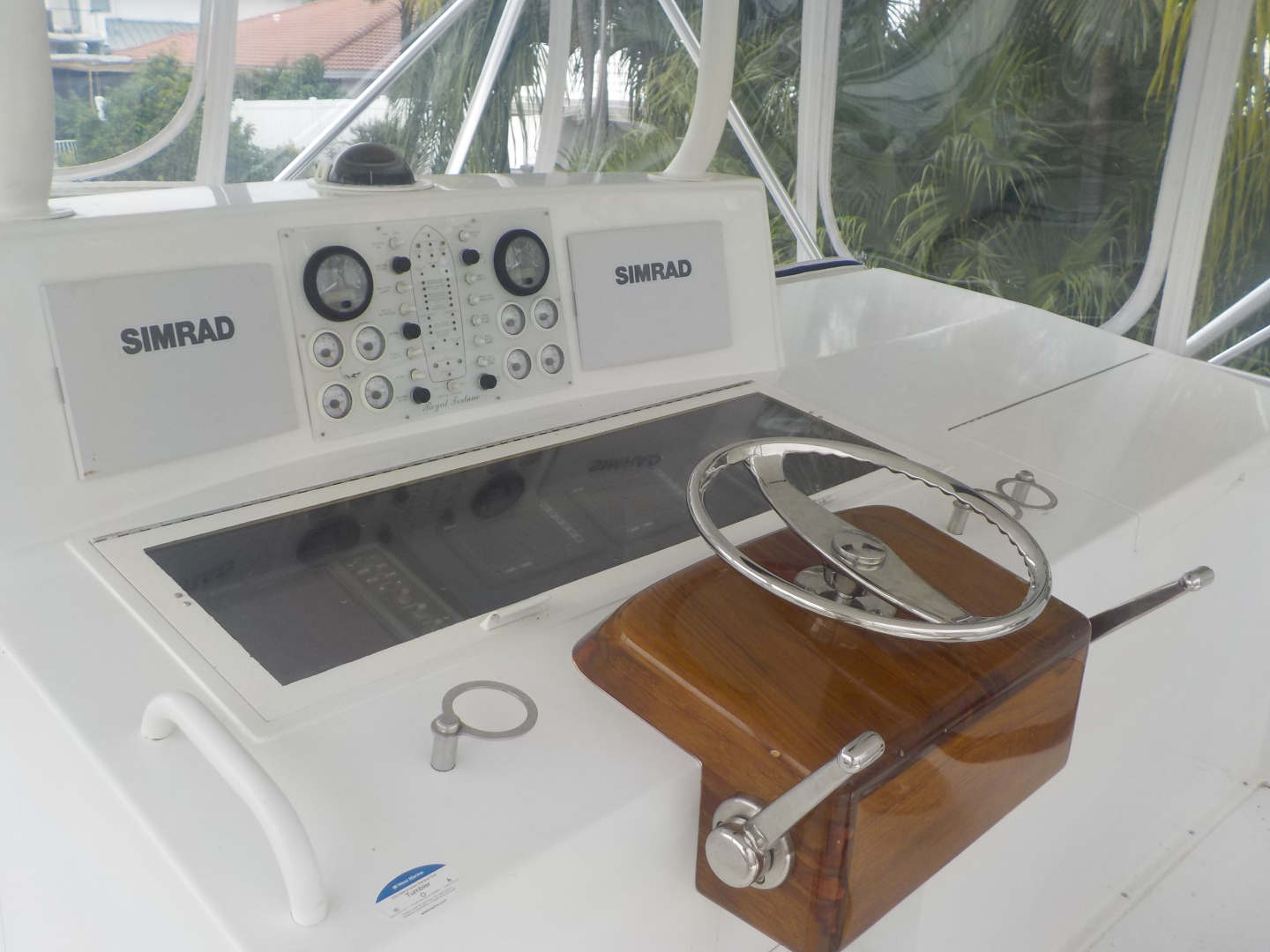 Viking-Convertible 1995-Royal Fortune Fort Lauderdale-Florida-United States-Helm Station-1512492 | Thumbnail
