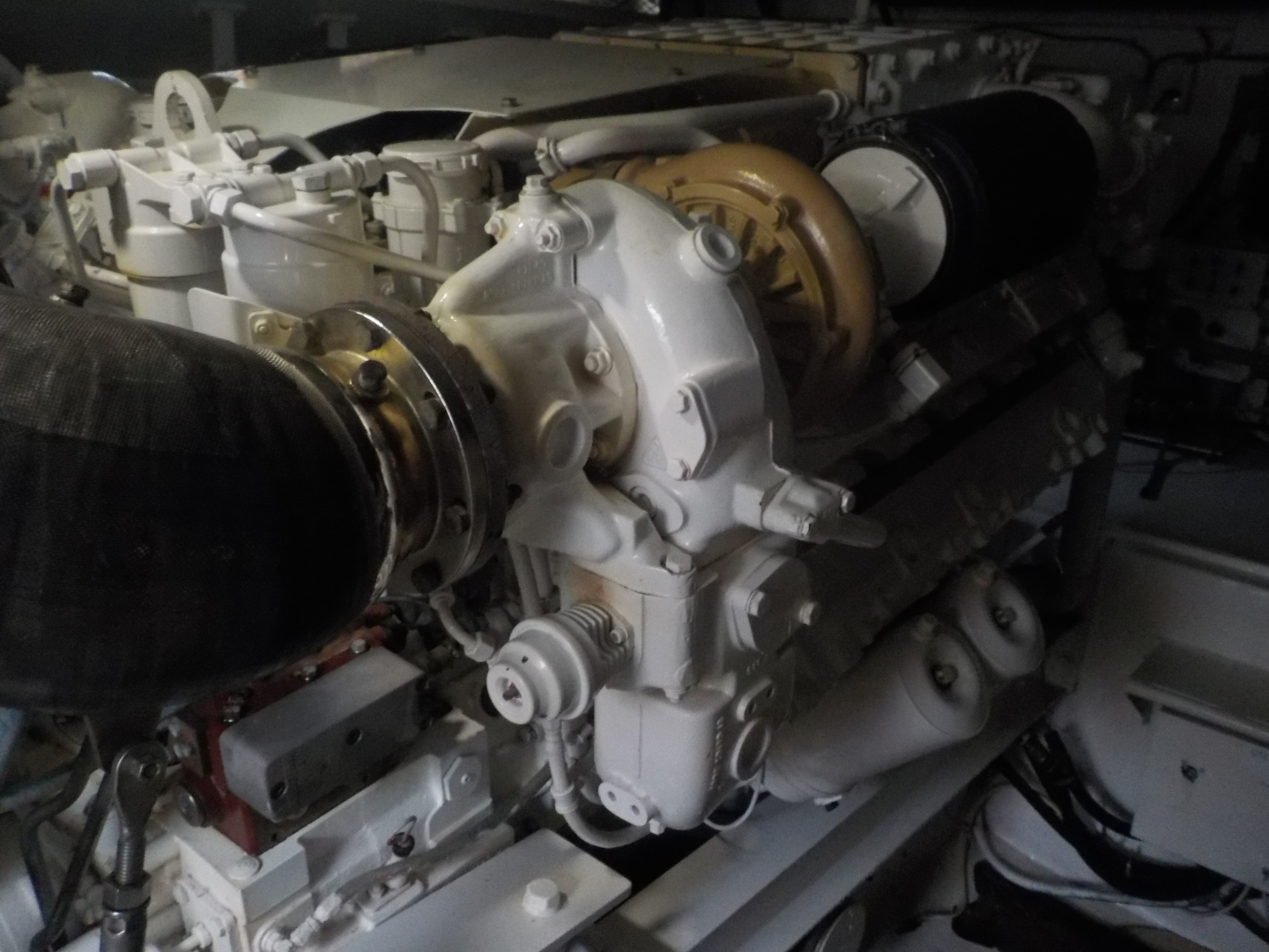 Viking-Convertible 1995-Royal Fortune Fort Lauderdale-Florida-United States-Engine Room-1512495 | Thumbnail