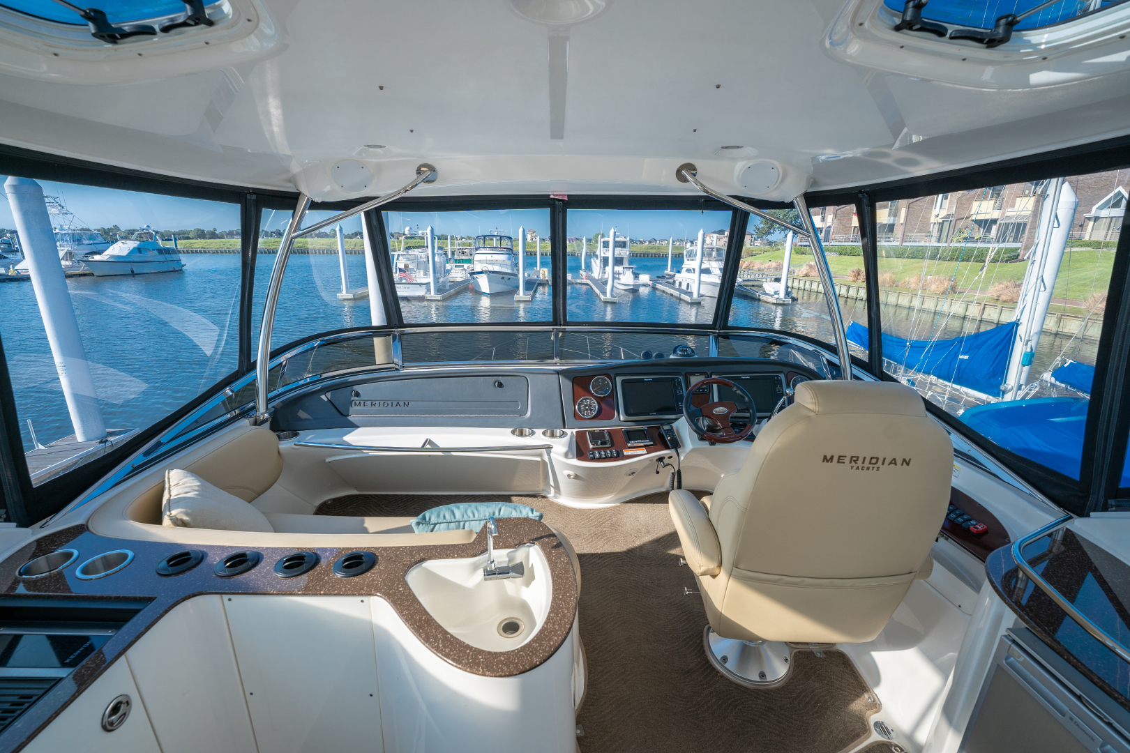 Meridian-441 Motor Yacht 2016-Friend Ship League City-Texas-United States-Meridian 441 2016 Friend Ship-1508182 | Thumbnail