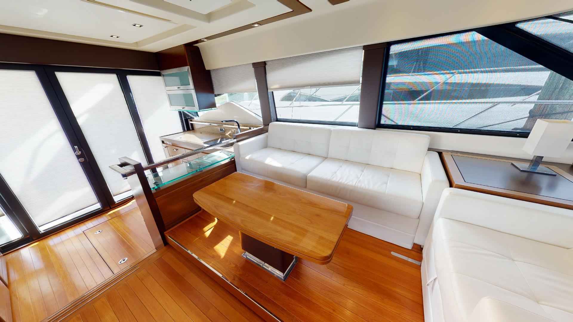 Tiara Yachts-50 Flybridge 2015-Khatch You Later North Palm Beach-Florida-United States-Salon-1509414 | Thumbnail