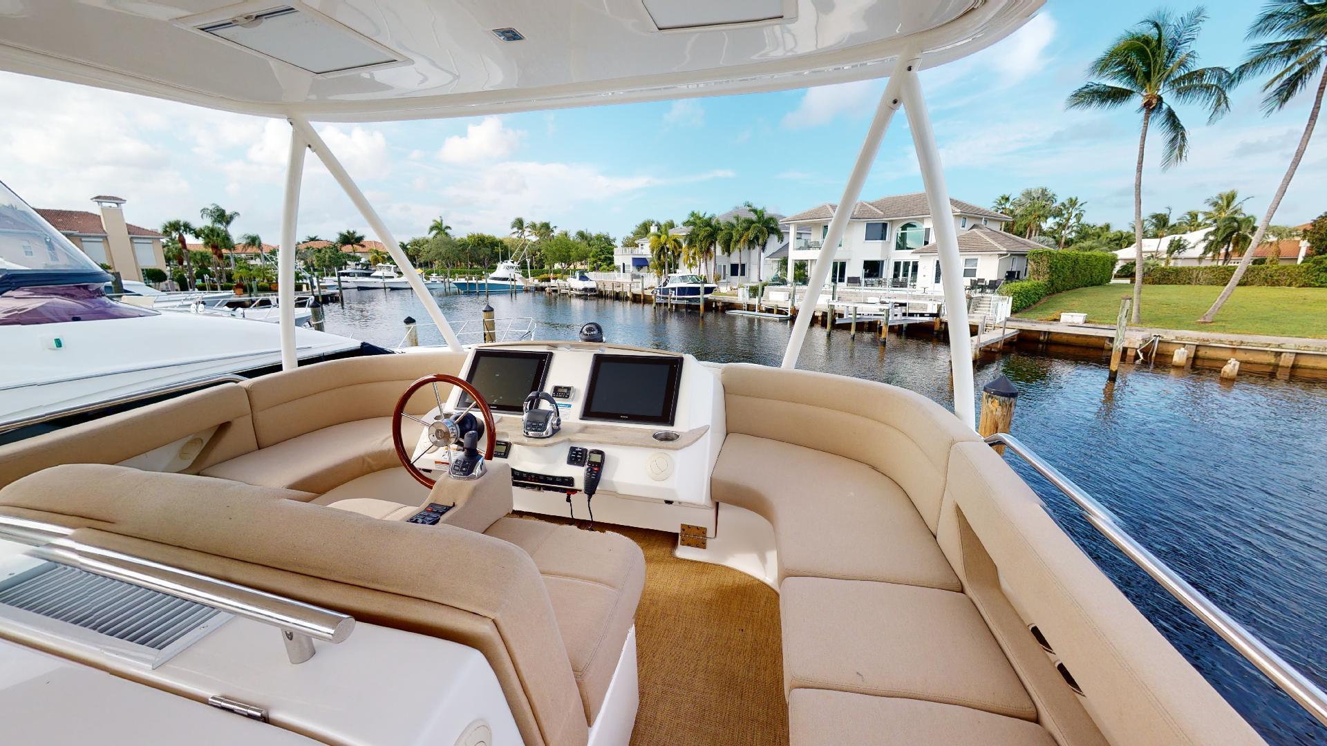 Tiara Yachts-50 Flybridge 2015-Khatch You Later North Palm Beach-Florida-United States-Flybridge-1509435 | Thumbnail