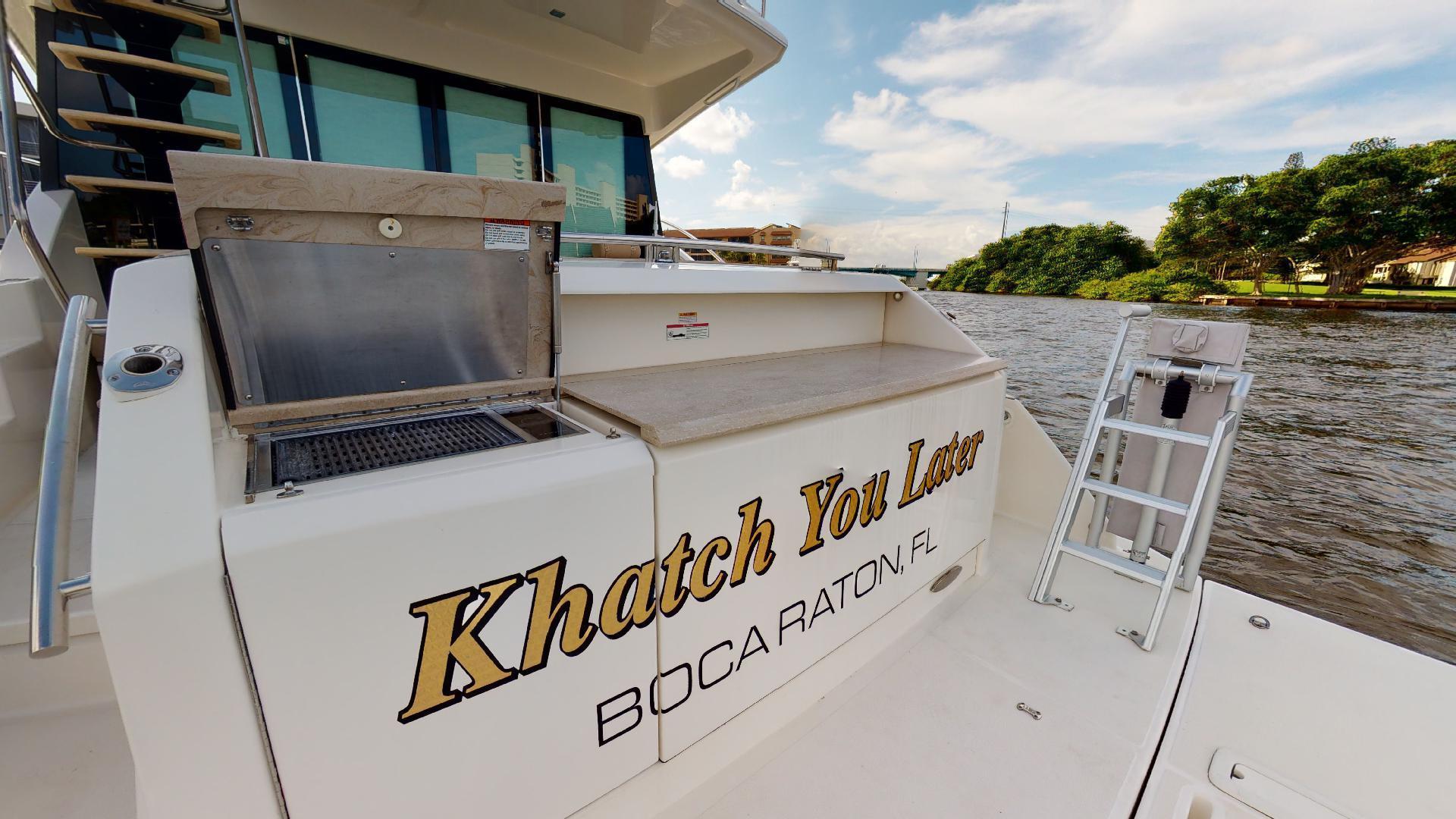 Tiara Yachts-50 Flybridge 2015-Khatch You Later North Palm Beach-Florida-United States-Transom-1509445 | Thumbnail